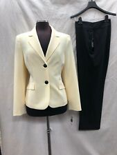 """LESUIT PANT SUIT/SIZE 16/INSEAM 32""""/NEW WITH TAG/YELLOW/BLACK"""
