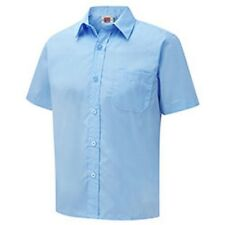 2 Pack Boys Short Sleeve School Shirts. by David Lukes. OFFICIAL SUPPLIER.