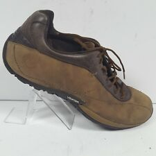 Merrell Solstice Light Brown Leather Casual Oxfords Air Cushion Womens Size 11