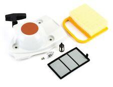 Recoil Assembly Air & Fuel Filter Spark Plug Fits Stihl Cut Off Saw TS410 TS420