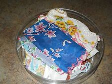 Vintage Ladie's Handkerchiefs - 1940's - 15 Total