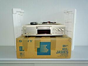 Sony MDS-JA50ES High-End MiniDisc Recorder Champagner OVP w.NEU 2 Jahre Garantie