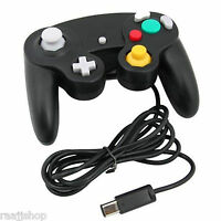 NEW BLACK WIRED CLASSIC CONTROLLER JOYPAD GAMEPAD FOR NINTENDO GAMECUBE GC & Wii