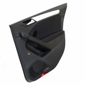 VW Golf 6 VI 5-türer Türverkleidung Verkleidung Tür hinten rechts Stoff schwarz