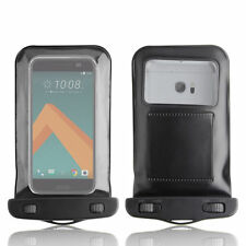 NEW SAND WATERPROOF BLACK CASE COVER BAG DRY POUCH FOR HTC 10 2016