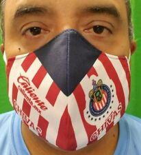 Chivas De Guadalajara Mouth & Nose Cover Face-Mask Double Layer Protection