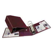 """Avery Heavy-Duty Binder with One Touch EZD Rings 11 x 8 1/2 5"""" Capacity Maroon"""