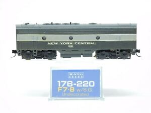 N Scale Kato 176-220 NYC New York Central EMD F7B Diesel Locomotive #1601 Custom