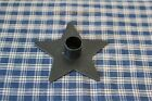 Primitive Black Iron STAR Candle Holder