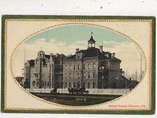 General Hospital Edmonton Canada Vintage Postcard 945a