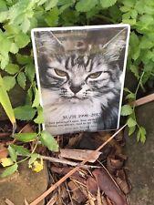 Pet Memorial Photo Ceramic Plaque