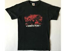 Simple Plan Size Small Black T-Shirt