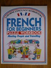 French for Beginners Puzzle Workbook: Meeting People and Travelling No. 1 (Usb,