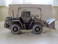 SPEC CAST - CASE - RUBBER TIRE FRONT END LOADER - PEWTER DIECAST