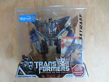 Transformers 2008 movie ROTF Decepticon Skywarp Walmart Excl+Collector Card new
