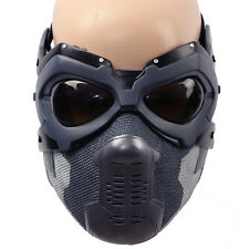 Xcoser Civil War Winter Soldier BuckyMask Cosplay Costume Halloween Dress up Men