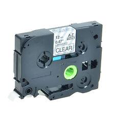 Beschriftband für Brother P-touch TZe-131 Clear TZ131 12mm PT-1160 1170 1170S