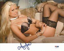 Maryse Ouellet Signed WWE 8x10 Photo PSA/DNA COA Playboy Wrestling Diva Auto'd 0