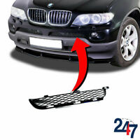 FRONT BLACK UPPER GRILL BUMPER LEFT N/S COMPATIBLE WITH BMW X5 E53 LCI 2003-2006