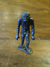 Vintage 1960s MPC Frankenstein 2.5 Inch Plastic Monster Figure Black