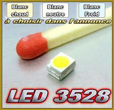 LED CMS 3528  blanc chaud, blanc, blanc froid 10 à 2000pcs choix dans l'annonce