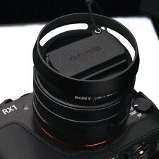 GARIZ Leather Lens Capfix Sony RX1 RX1RII XA-CFRX1BK Black