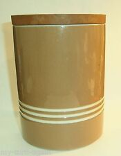 T G Green Channel Islands Range Chocolate Her Brown Pottery Storage Jar Canister