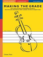 Making The Grade 1-3 Violin LEARN TO Play Fiddle Beginner Music Book