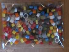 1 sac d'assortiment flotteur caps/caoutchoucs - 0.75mm à 4mm tailles mélangées pour tous les flotteurs
