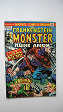 The Frankenstein Monster #13 (MCG,11/74) VF+ 'Runs Amok!' Wow!!