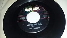 """THE SPIDERS Tennessee Slim / You're The One IMPERIAL 5714 DOO WOP 45 7"""" VINYL"""