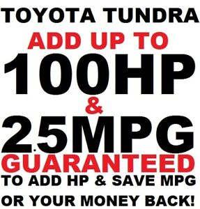 Performance Tuner Chip TOYOTA TUNDRA 4.6 5.7 LIMITED TRD PRO SR5 MEGA POWER