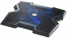 "Cooler Master Notepal X3 Notebook Cooling Stand 200mm fan blue LED up 17"" Laptop"
