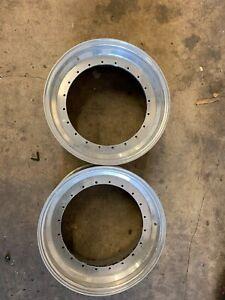 BBS Motorsports 20 hole 17in  Lip and barrels E50 E51 E52 E26 E87