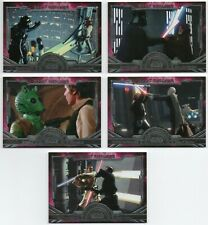 2016 Star Wars Masterwork Great Rivalries 10 Cards Complete Set