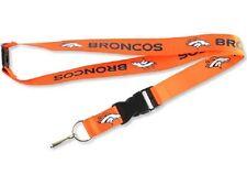 NFL Denver Broncos Lanyard Badge Holder NEW