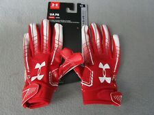 Under Armour F6 Youth Football Gloves Red (600)/White Yl