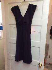 $138 Betsey Johnson navy dress size 2 F104