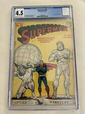 Superman #28 CGC 4.5 - Collect Cool History & Pop Culture that's Good Investment