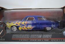1:18 Highway 61 #50125 - Studebaker PERSONALIZZATO Coupè blu con Flames -