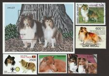 Shetland Sheepdog * Int'l Dog Postage Stamp Art Collection * Great Gift *