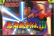 NES NINJA GAIDEN Ryukenden 3 Nintendo FC Famicom Japan Used