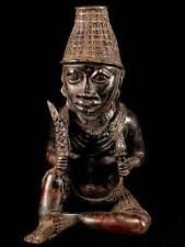 ** Bronze Oba / Nigeria, Benin ** 5 kg **