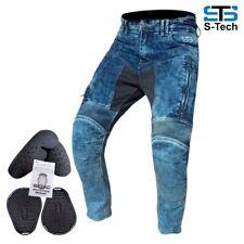 Jeans Moto Pantaloni Tecnico Stechmoto ST555 Falcon con Aramide E CE Protezione