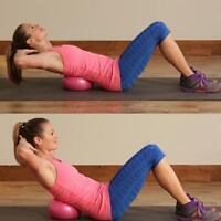 25cm Yoga Ball Physical Fitness Exercise Balance Sport Ball Pilates Birthing - S