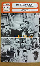 US Comedy Kiss Me Stupid Dean Martin Kim Novak  French Film Trade Card