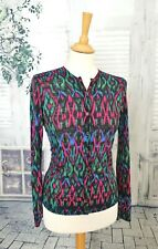 MISSONI Multicoloured Wool blend cardigan size 12