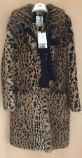 ERDEM X H&M Mantel Leopardenprint COAT Fake Pure Größe 34 size US 4 UK 8 neu new