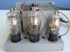 Western Electric 107A amplifier