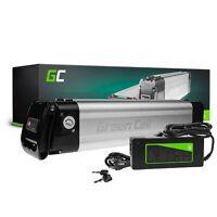 E-Bike Akku 24V 8.8Ah Li-Ion Elektrofahrrad Silverfish Batterie + Ladegerät